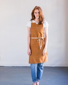 Culinary Apron – Cpper Brushed Twill - by Artifact Bag Co. - Made in USA