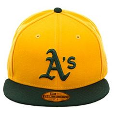 New Era 2Tone Oakland Athletics Fitted Hat - Gold 7b6cd7af83e