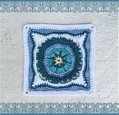 Moroccan crochet square #2 | Vrouekeur