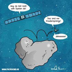 Philea #CometLanding