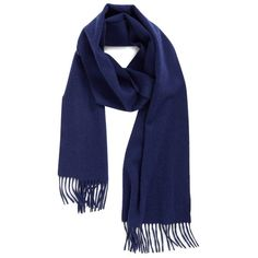 Women's Nordstrom Solid Woven Cashmere Scarf ($99) ❤ liked on Polyvore featuring accessories, scarves, navy midnight, woven shawl, navy shawl, woven scarves, navy blue shawl and fringe scarves