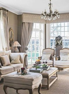 home interior design builder lingfield Layout Design, House Design, Design Ideas, Living Room Designs, Living Room Decor, Country House Interior, Country Homes, Provence Style, Casa De Campo