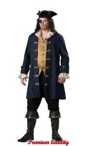 Pirate Captain Costume - Mens Costumes