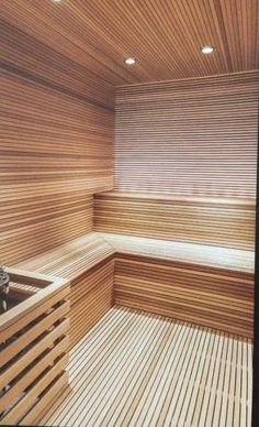 Sauna In Backyard Sauna Steam Room, Sauna Room, Spa Interior, Interior Garden, Interior Design, Modern Saunas, Building A Sauna, Sauna House, Outdoor Sauna