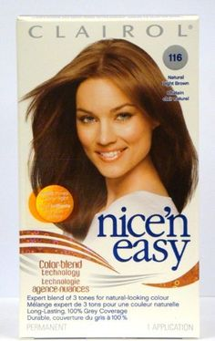 Clairol Nice 'N Easy Color -116 Natural Light Brown (Pack of 2) -- Learn more by visiting the image link.