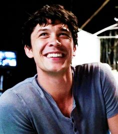 Bob Morley, even how he looks when he laughs is cute!