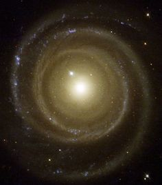 Astronomers have found a spiral galaxy that may be spinning to the beat of a different cosmic drummer. To the surprise of astronomers, the galaxy, called NGC 4622, appears to be rotating in the opposite direction to what they expected. Pictures from the NASA/ESA Hubble Space Telescope helped astronomers determine that the galaxy may be spinning clockwise by showing which side of the galaxy is closer to Earth.