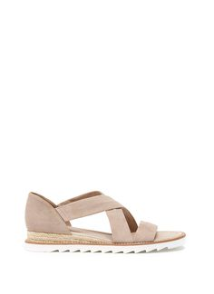 Mink Tess Wedge Sandal   New in   MintVelvet #MintVelvet #SS15 #MVSS15