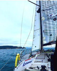 Tutto pronto per la partenza! Direzione #Plymouth! #GarminMarine #GarminMarineItaly #SailingTeam #GarminSailingTeam #vela #sail #sailing #barca #mare #passione #regata #oceano #Ostar #Illumia #Zambelli #michele #vento #technology #plotter #gps #wind #instrument #navigare #go #nevergiveup