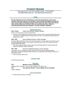 graduate school resume template resume template builder httpwwwjobresume - How To Write A Resume For College