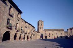 Plaza Mayor de Ainsa, Huesca