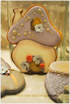 Mushroom Cookie House