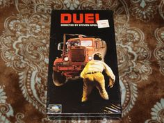 Duel (VHS, 1997) Rare OOP Final MCA Release! Open Matte Cult Spielberg! *SEALED*