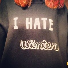 寒いの嫌い…