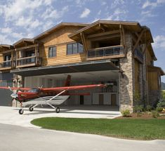 61 best Hanger homes floor plans images on Pinterest   Floor plans     Well you can at SilverWing at Sandpoint  A private  exclusive airport  community that covers nearly 18 acres with 44 fee simple  hangar residences   lots that