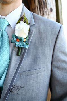 gray and light blue wedding - groom Wedding Groom, Wedding Suits, Wedding Attire, Rustic Wedding, Wedding Decor, Cute Wedding Ideas, Wedding Inspiration, Color Inspiration, Dream Wedding