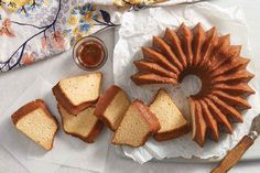 Maple Pound Cake with Maple-Rum Glaze Recipe