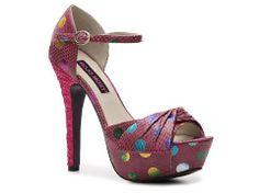 Mojo Moxy Dotty Sandal High Heel Sandal Shop Women's Shoes - DSW