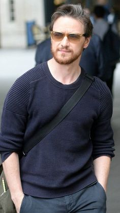 James McAvoy arrives at the BBC Radio 2