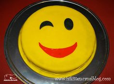 Gâteau SMILEY - Smiley cake