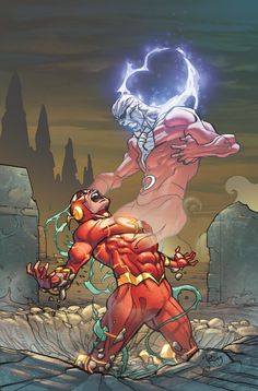 THE FLASH #29 Written by BRIAN BUCCELLATO Art by PATRICK ZIRCHER Cover by PASQUAL FERRY