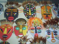 mascaras africanas en Portal del Profesor