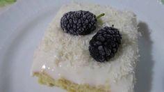 Турецкий десерт. Вкусный нежный легкий воздушный торт с белым кремом. Ge...