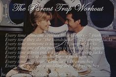The Parent Trap Workout! Want to see more workouts like this? Follow us here for your favorite movies and tv shows! We take requests, too! ... Netflix TV Workouts, TV Workout Games