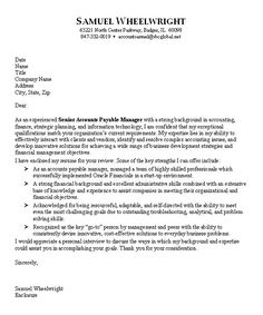 find this pin and more on job hunting accounting cover letter sample - Examples Of Job Cover Letters