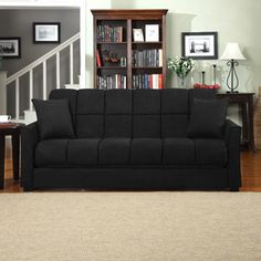 Baja Convert-a-Couch and Sofa Bed, Multiple Colors