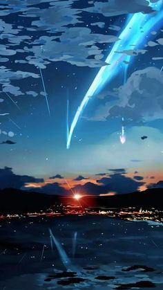 50 Mobile Wallpaper Inspiration For Those In Need Of a Change Wallpaper Hipster, Kimi No Na Wa Wallpaper, Your Name Wallpaper, Galaxy Wallpaper, Wallpaper Samsung, Wallpaper Art, Mobile Wallpaper, Anime Backgrounds Wallpapers, Anime Scenery Wallpaper