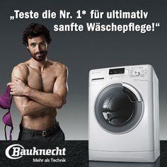 Mitmachen und eine Waschmaschine testen....
