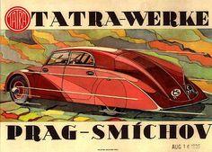 Tatra 77 poster by tatraskoda