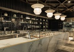 A sleek espresso bar for Australia's coffee capital Photo by Michael Wee #architecture #design #interior #hospitality