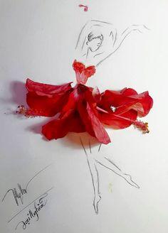 Chàng MC thể hiện khả năng thiết kế và óc sáng tạo qua những tác phẩm thời trang đầy nghệ thuật.