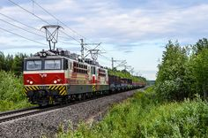 Finland - Freight train 3057 from Hämeenlinna to Raahe - ArtDvU Sr1, Locomotive, Trains, World, Finland, Locs, Train, Peace, The World