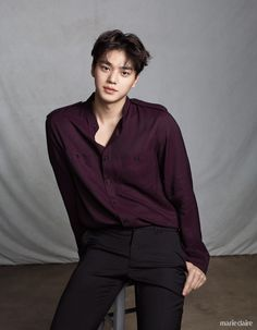 Song Kang - Marie Claire Magazine September Issue - Mery J Kendy Song Kang Ho, Sung Kang, Asian Actors, Korean Actresses, Actors & Actresses, My Love Song, Love Songs, Handsome Korean Actors, Handsome Boys