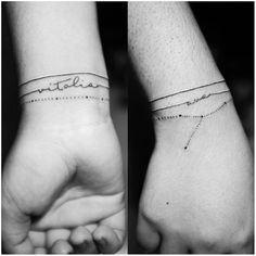 5th ink: my daughter's name that I can wear forever 💜 Tat by: Joebert Wapaño Maceren #minimaltattoo #bracelettattoo