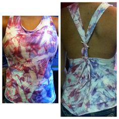 Tie dye DIY shirt #diy