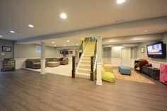 Lovely Remodel Basement Floor