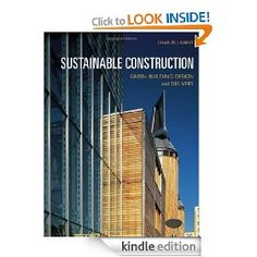 Sustainable constructions - Green building design and delivery