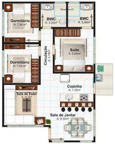 "Designer House Plans 50 four ""4"" bedroom apartment/house plans | bedroom apartment"