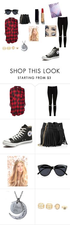 """""""Going for a walk...."""" by lexilou0131 on Polyvore featuring Miss Selfridge, Converse, Whistles, Le Specs, LULUS and Chanel"""