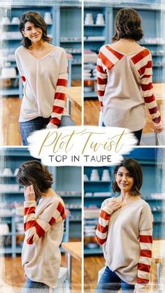 plot twist Trendy Online Boutiques, Circular Pattern, Plot Twist, White T, Clothing Items, Best Sellers, Trendy Fashion, Taupe, Light Blue