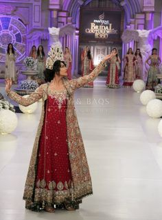 Couture Bano: Tabassam Mughal at Pantene Bridal Couture Week 2012