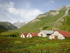 The Alps in Vanoise National Park, France