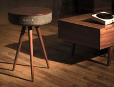 The Mellow is a multimedia table. Its elegant wood+fabric construction makes it fit classically into any home without standing out too much. The thing that does make it stand out though, is that under the table's surface lie four 15W speakers as well as 4 passive radiators, churning out sound capable of transforming your house into a cinema, or making it the perfect venue for everything from easy-listening to a rocking house party! Working wirelessly with any multimedia device, and a number…