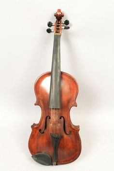This is a handsome estate found antique full-size folk art violin crafted by John Alling in March of 1903. In overall good condition with surface scratches, abrasions, and wear to the finish. Especial wear to the area for the bridge. | eBay!