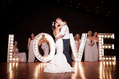 Illuminated Letters | LED letters for parties, events, weddings, birthdays | Photoboothy