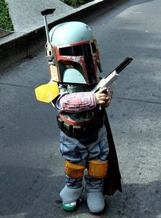 Parenting - You're doing it right! http://www.jedipedia.net/wiki/Boba_Fett